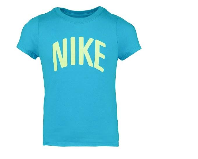 Nike Girl's Athletic Cut Logo T-Shirt