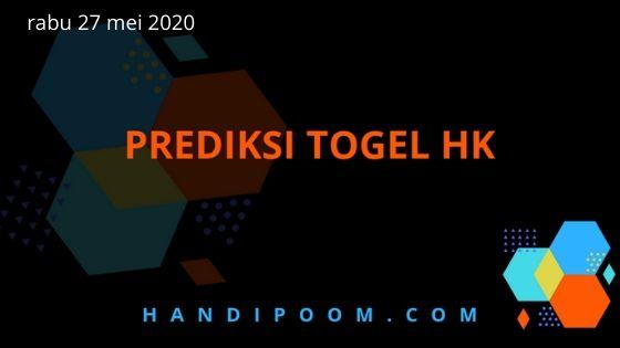 angka jitu Hk rabu 27 Mei 2020