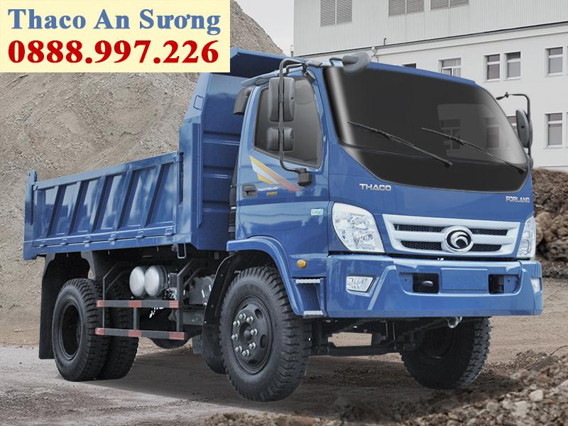 Xe ben forland thaco fd650 tải trọng 6,5 tấn thùng 5,4 khối