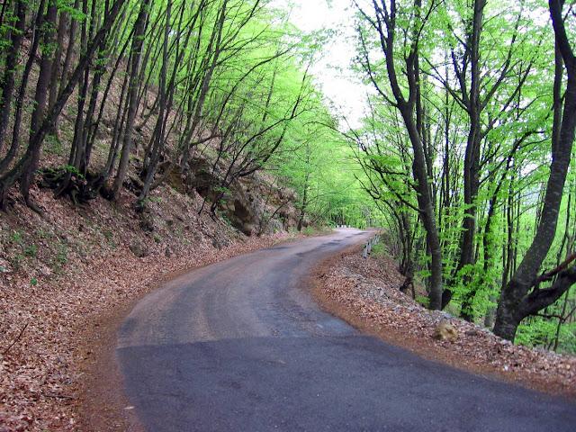 Дорога Бахчисарай-Ялта