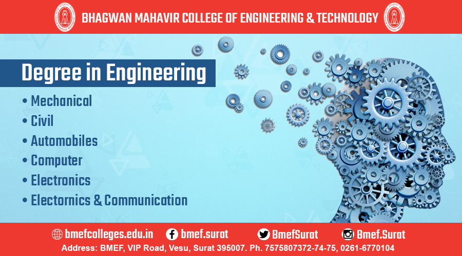 BMCET best engineering college in surat