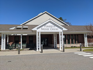 Senior Center - Town Officials, State Rep Jeff Roy offce hours - May 20