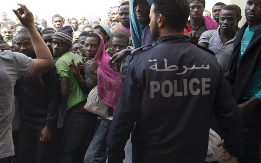 nigerians libyans kidnap migrants libya