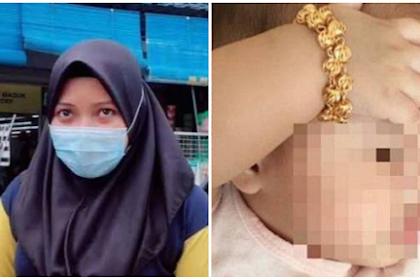 Demi Bergaya, Ibu Kenakan Emas ke Tangan Bayinya, 3 Bulan Kemudian Gelang Dibuka Langsung Menyesal