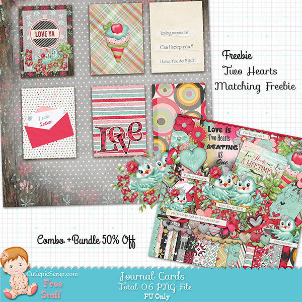 Spring Birds , Digital Journal Cards Freebie +Free Printable