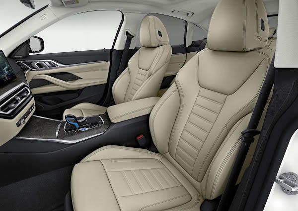 BMW i4 eDrive40 - interior