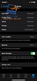 كيف ترى وقت قراءة رسالة WhatsApp بالضبط