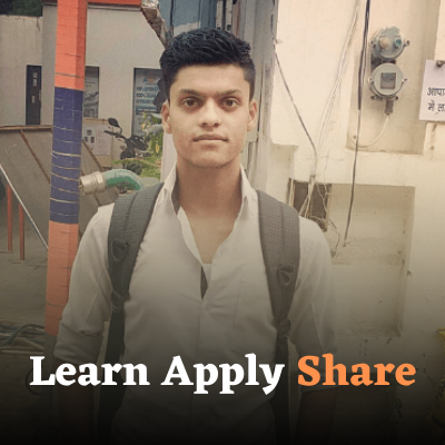 Shubham Hathi - Learn Apply Share