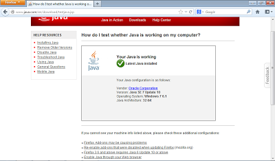 Firefox with working Java