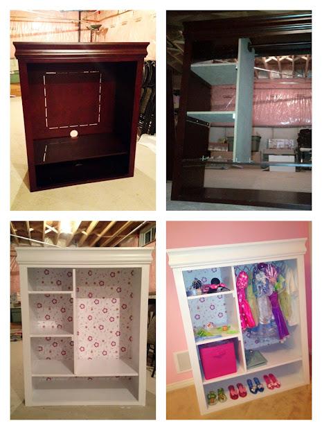 Whimsicalcreations.ca Diy Girls Dress Closet