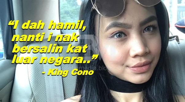 King Coco Mengaku Hamil, Mahu Bersalin Di Luar Negara