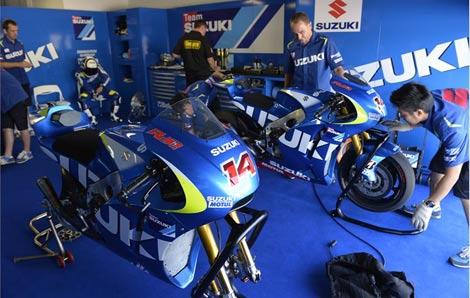 Suzuki Sudah Menenmukan Setingan Tepat Agar Motor Lebih Cepat