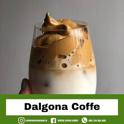 Resep Minuman - Dalgona Cofee