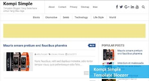 4 Template blogger paling keren, 100% SEO friendly, responsive dan fast loading