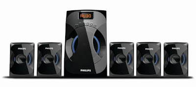 Philips 4040B speakers