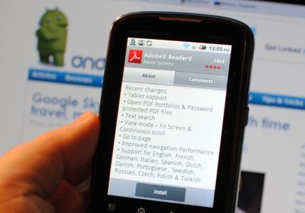 Descargar Adobe Reader para Android Gratis