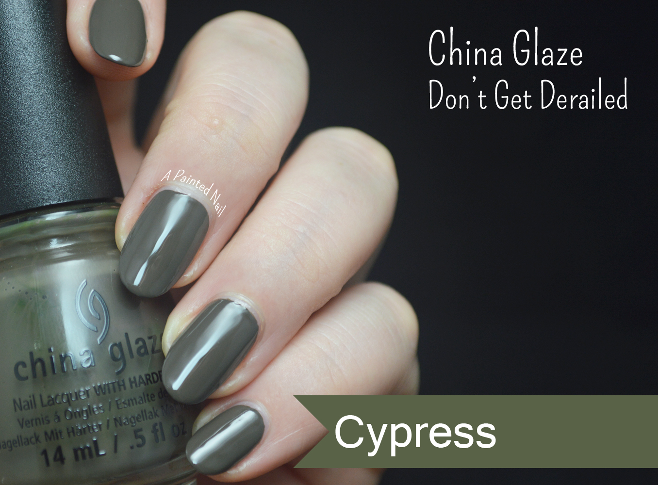a painted nail china glaze don t get derailed fall winter 2014