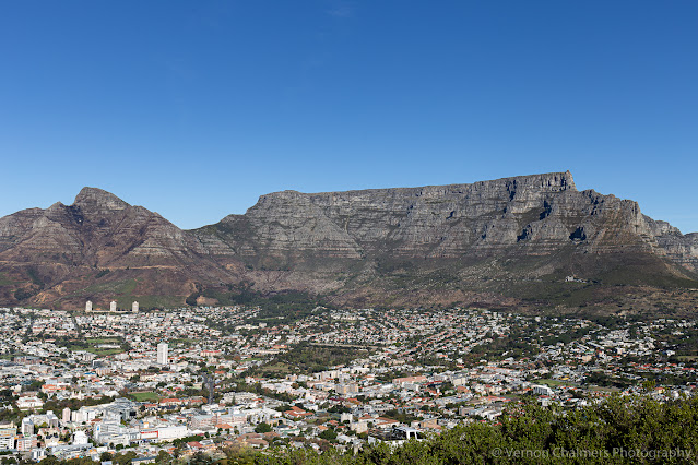 Table Mountain View From Signal Hill Vernon Chalmers Photography