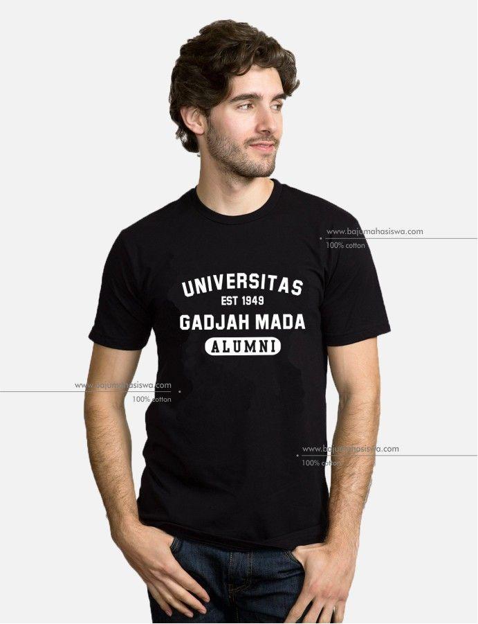 baju mahasiswa tshirt universitas gadjah mada alumni male