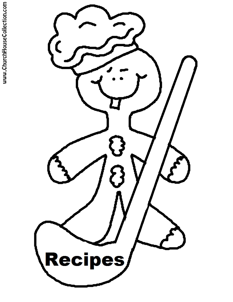 Gingerbread+Cookie+With+Cooking+Ladel+Printable+Template+Coloring+Page+cutout+recipe
