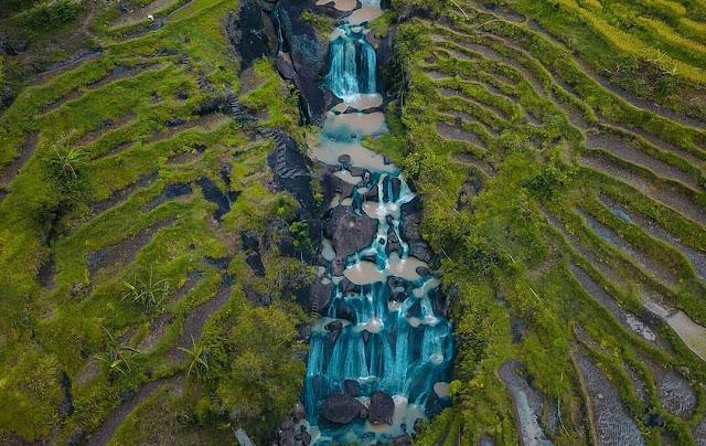 Air Terjun Kedung Kandang, Wisata Gunung Kidul Bernuansa Ubud, Bali