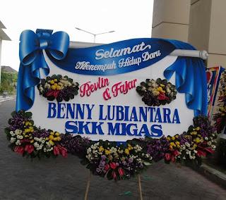Bunga Papan Happy Wedding Surabaya