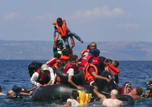 14 migrants including four children die as boat capsizes off the coast of Greece
