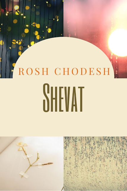 Happy Rosh Chodesh Shevat Greeting Card | 10 Free Beautiful Cards | New Jewish Eleventh Month