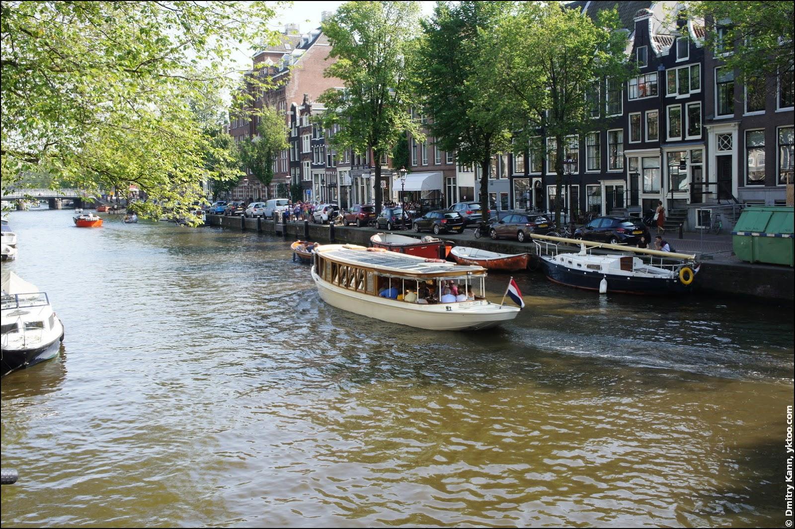 Амстердамские каналы.