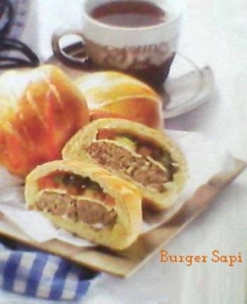Burger Sembunyi, Burger Tersembunyi dalam Roti