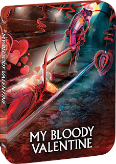 Vault Master's Pick of the Week for 02/09/2021 is Scream Factory's Steelbook of MY BLOODY VALENTINE!