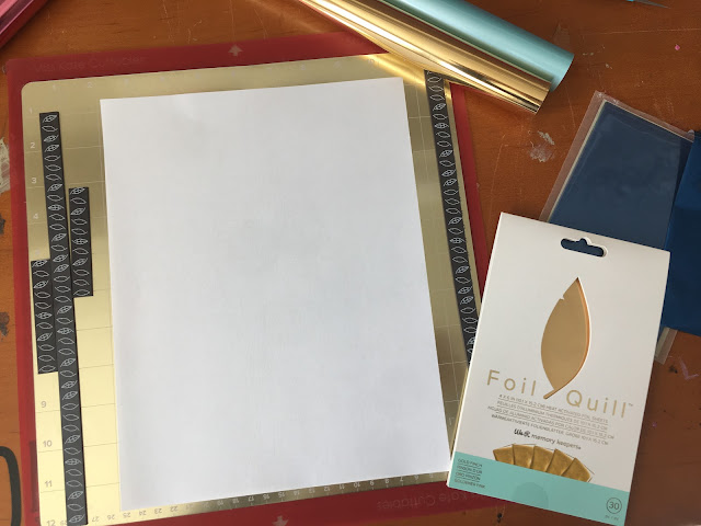 foil quil, foil quill silhouette, foil quill magnetic mat, foil quill magnet mat board, foil quill tutorials