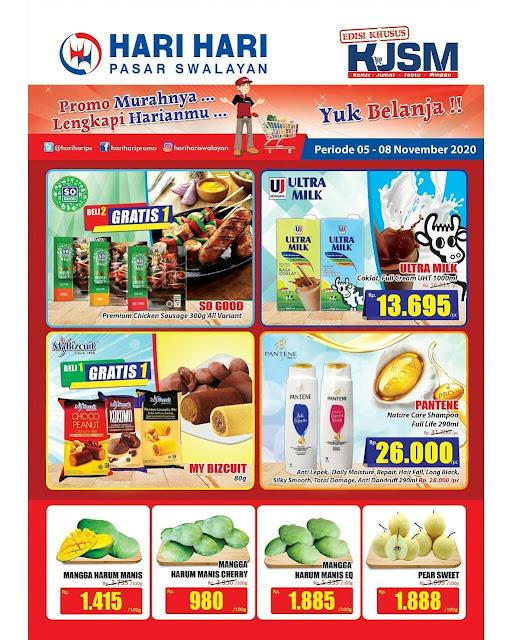 Katalog Promo Hari Hari kJSM Periode 05-08 November 2020