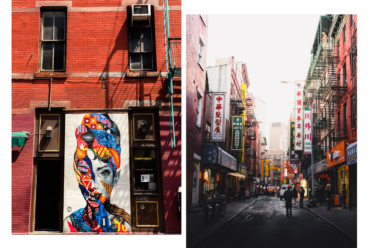 little italy et china town new york
