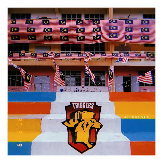 Selamat hari kemerdekaan Malaysia!