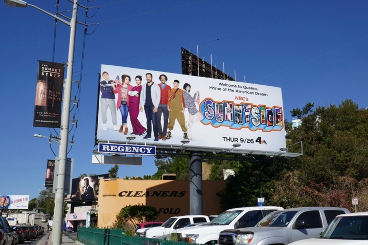 Sunnyside NBC series billboard