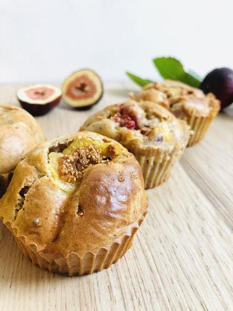 Muffins aux figues et aux amandes sans sucre ajouté