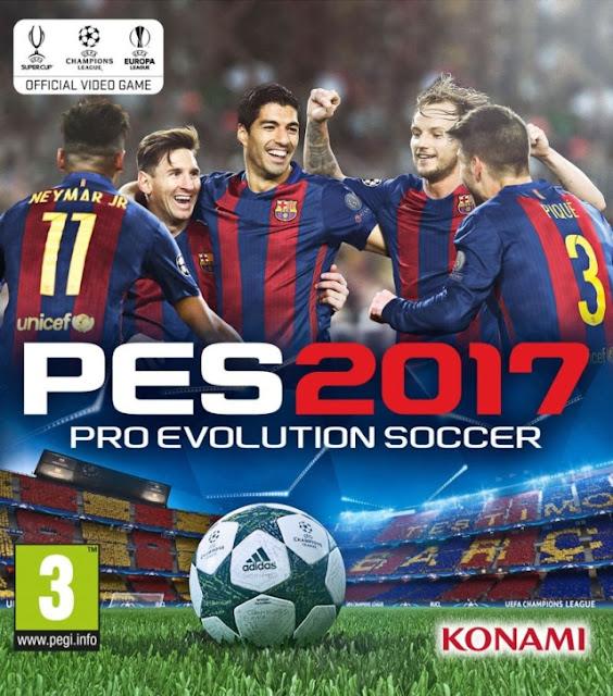 تحميل اخر اصدار من لعبة pes 2017