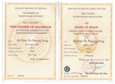 lam bang dai hoc tphcm