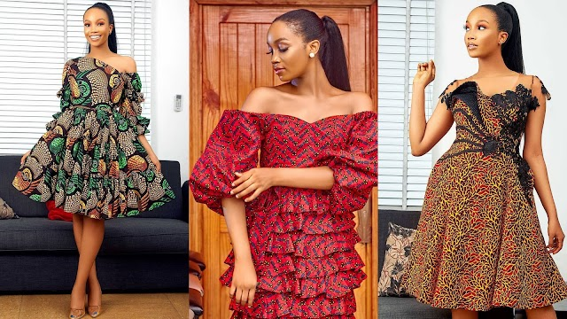 Latest Short Ankara Gown 2021 for ladies: Lovely Dresses to stunned you outing