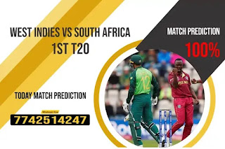 SA vs WI Dream11 Team Prediction, Fantasy Cricket Tips & Playing 11 Updates for Today's South Africa tour of West Indies T20 2021 - 1 July 2021