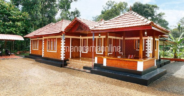 3 bedroom kerala naalukettu home design with nadumuttam in house plans in kerala with nadumuttam arts
