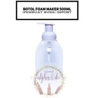 Botol Foam Maker 500ml Pembuat Busa Bahan Plastik IMPORT