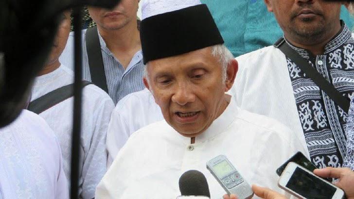 Pertemuan Jokowi dan Prabowo, Amien Rais Tak Mau Berkomentar