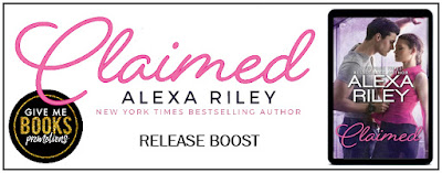 Claimed by Alexa Riled release boost banner