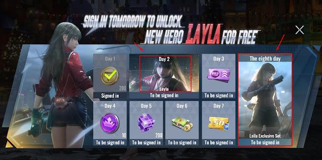 Hero Terbaru Cyber Hunter Leyla dan Tutorial Cara Mendapatkannya