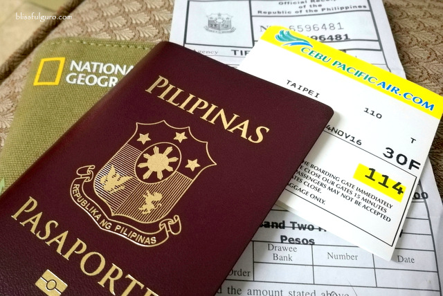Taiwan Visa Application Philippines