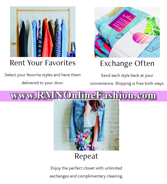 Armoire | Rent Contemporary Designer Women's Clothing - #RMNOnline Fashion Group