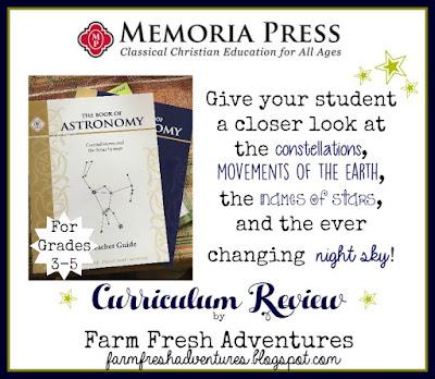 Memoria Press: Book of Astronomy Set Review
