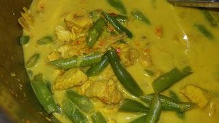Resepi Masak Lemak Cili Padi Ayam dan Kacang, masak lemak, masak lemak ayam, masak lemak kacang, masak lemak cili padi, masak lemak cili api, resepi, resepi masakan Melayu,